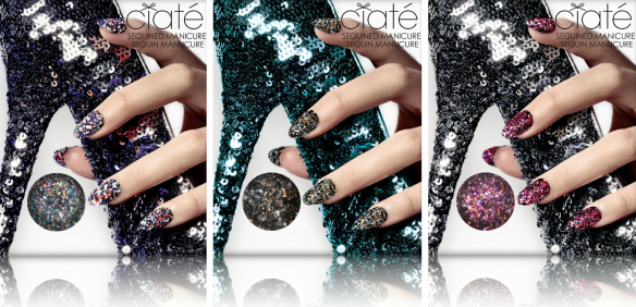 Ciate Sequined manicure sets